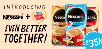 Nestle Nescafe with Coffee-mate: Better Together $35,000