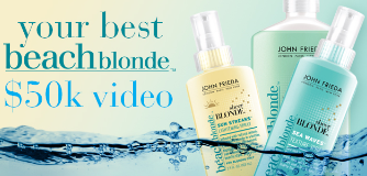 John Frieda Your Best Beach Blonde Video Project