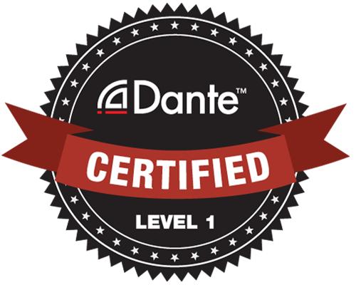 Dante Certification Level 1