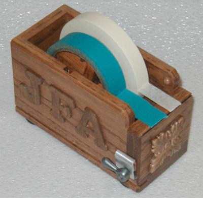 Measuring Tape Dispenser - HomemadeTools.net  Measuring Tape ...