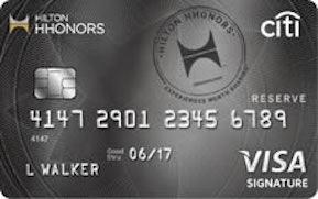 Hilton hhonors reserve card