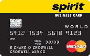 Spirit airlines world mastercard for business credit card too spirit airlines world mastercard for business credit card reheart Image collections