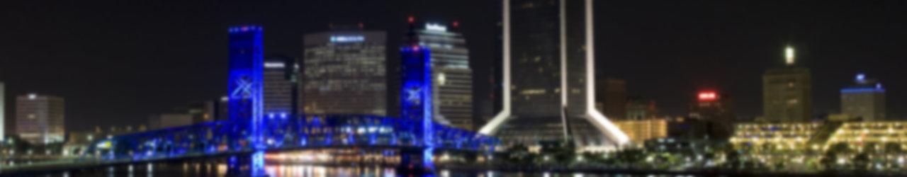 Jacksonville skyline by greyghostxxx