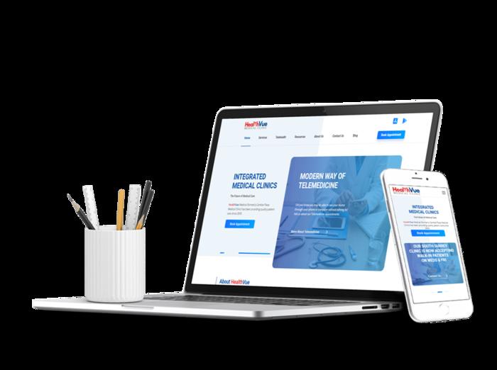 Healthvue website
