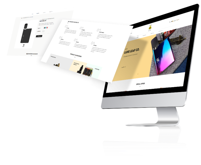 Luxeleaf website
