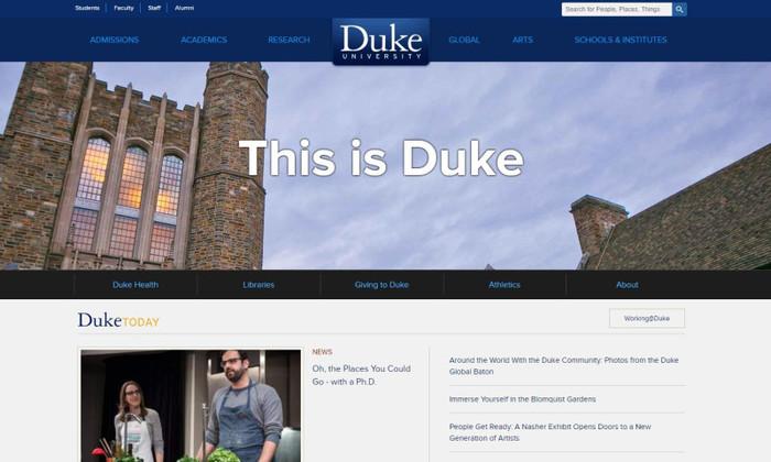 Duke university thumb