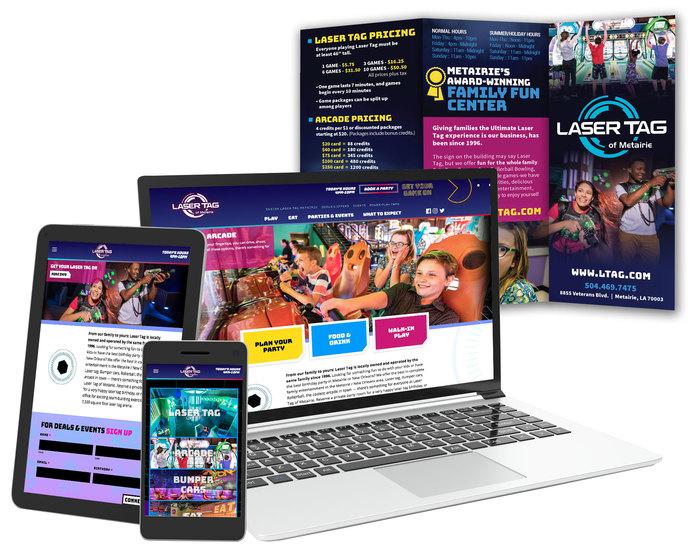 Ltag website brochure