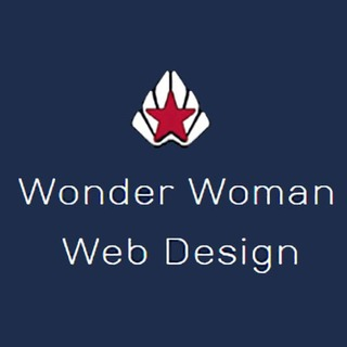 Wonder Woman Web Design Logo