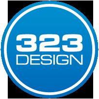 323 Design Logo