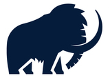 Wooly mammoth design logo 2