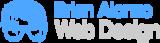 Brian alonzo web design logo med