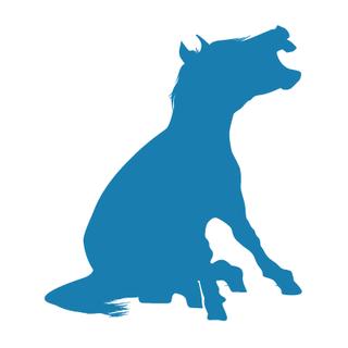 Yelling Mule Logo