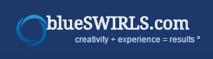 blueSWIRLS Logo