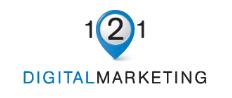 121 Digital Marketing Logo