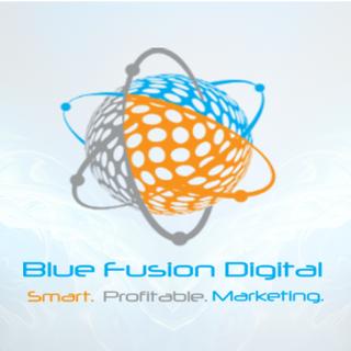 Blue Fusion Digital Logo