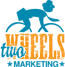 Two Wheels Marketing Logo