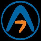 Seven atoms logo circle 300x300