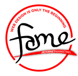 Fame logo coloronwhite