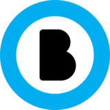 Primary black cyan icon