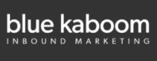 Blue Kaboom Design Logo