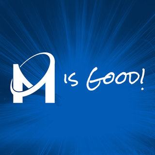 M is Good Logo