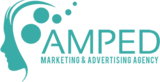 Amped footer logo