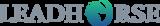 Leadhorse logo dark text