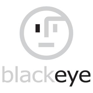 Black Eye Design Logo