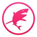 Pink Shark Marketing Logo