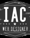 Iac webdesigner vertical gray