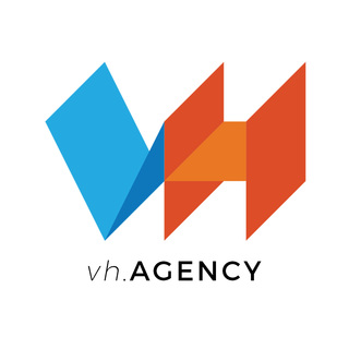 vh.AGENCY (Visual Harbor LLC) Logo