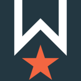 Wpd icon reverse on blue