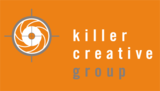 Killer creative logo orange 400px