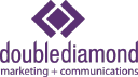 Double Diamond Marketing + Communications Logo