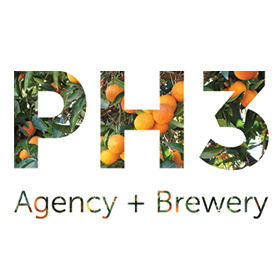 PH3 Agency + Brewery Logo