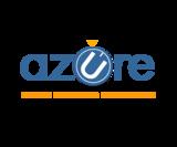 Azure logo blue on transparent