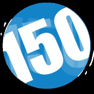 150 Website Logo