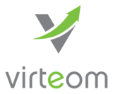 Virteom logo color rgb