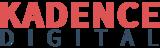 Kadence digital logo blue