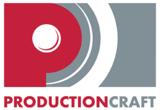 Production craft logo 72 dpi white background