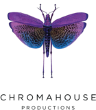 Chroma house video production company logo