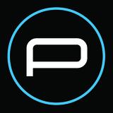 P sub logo black
