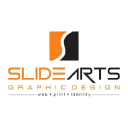 Slide Arts Graphic Design Logo