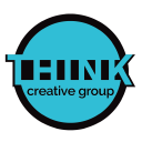 THINK creative group Logo