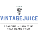 Vintage Juice Brand Marketing Logo