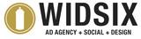 Widsix logo   full service ad agency  social media  branding  design phoenix az
