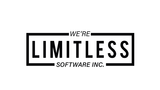 Limitless software white background
