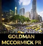 Goldman mccormick pr logo