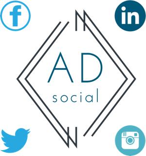 A D Social Logo