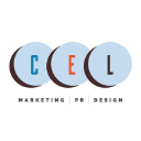 CEL Marketing PR Design Logo